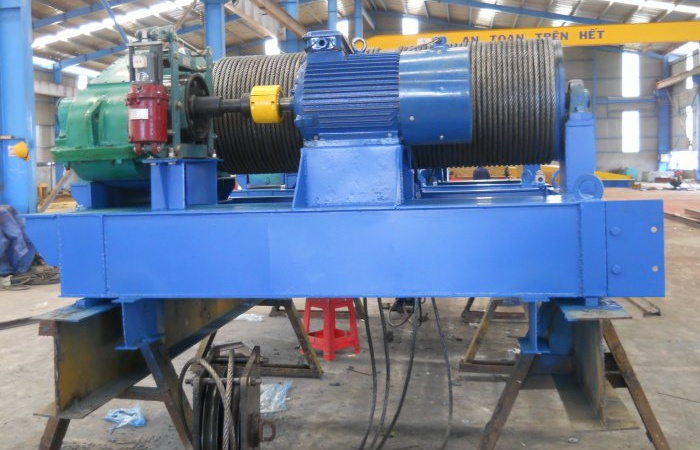 Completion of 15Tx2 winch - Supply to Srepok Hydropower Plant4A